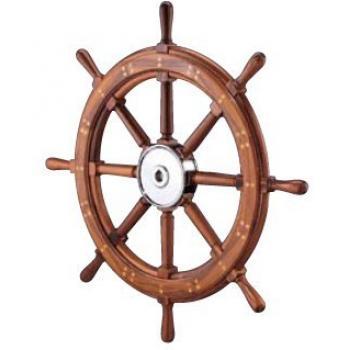 Edson Classic Teak Yacht Wheel