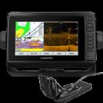 Garmin EchoMap UHD 73cv - US LakeVu g3 - w/GT24UHD-TM Transducer