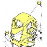 Lewmar Front Case Kit  H2/3