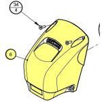 Lewmar Case Rear H2/3