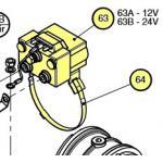 Lewmar Contactor Kit 12V H2/3