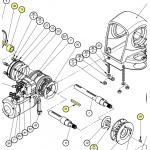 Lewmar Drive Key Kit H2/3