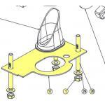 Lewmar Pro-Sport Mounting Kit