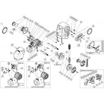 Lewmar H2/H3 Windlass Parts