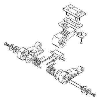 Lewmar Hatch Parts