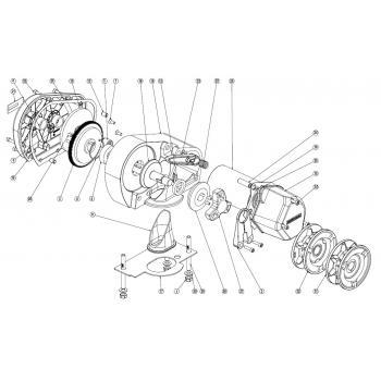 Lewmar Pro Sport 550 Windlass Parts