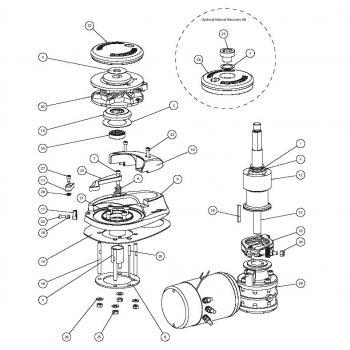 Lewmar V1 Windlass Parts