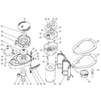 Lewmar V700 Windlass Parts