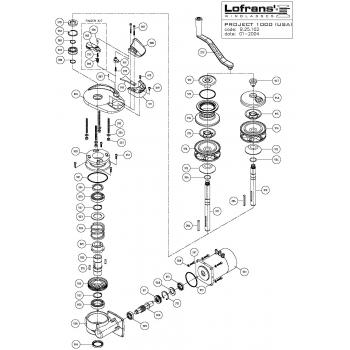Lofrans Project 1000 Windlass Parts