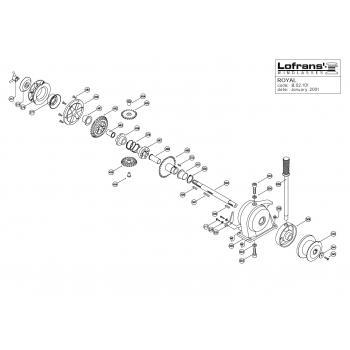 Lofrans Royal Windlass Parts
