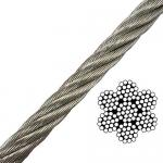 7x19 Rigging Wire - Type 316 SS
