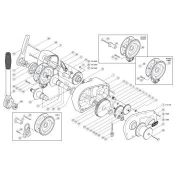 Simpson Lawrence Horizon 600/900 Parts