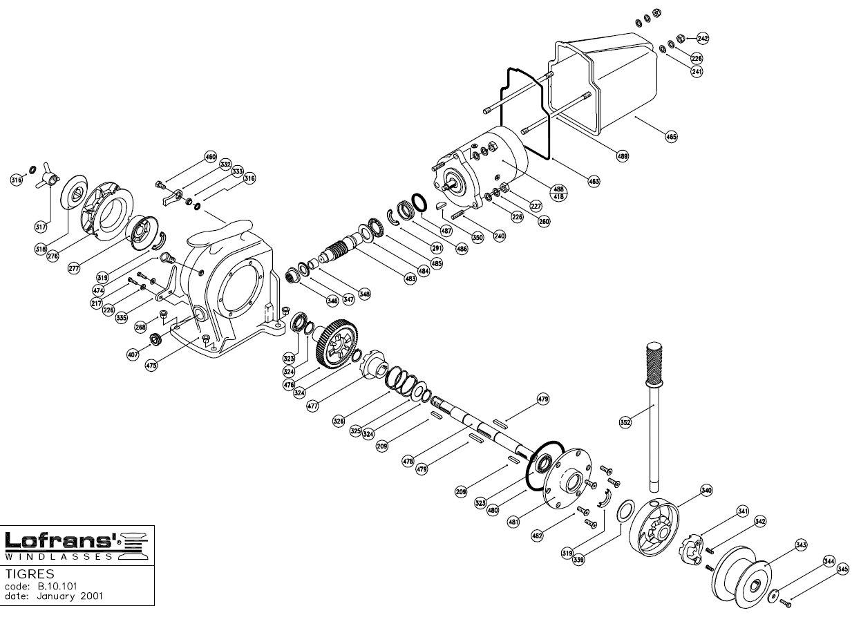 lofran an b wiring diagram