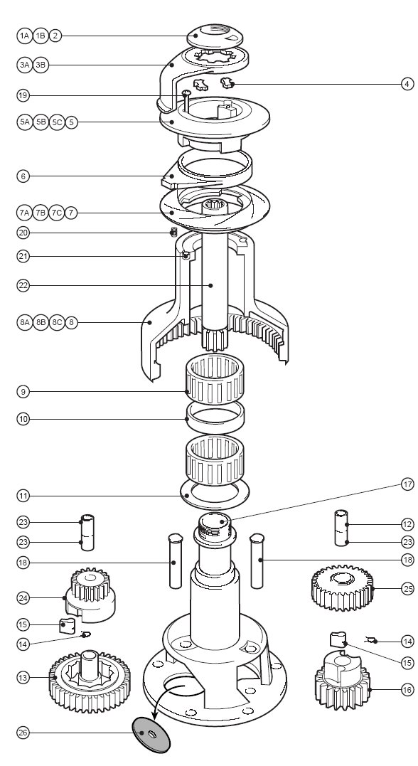 Lewmar 40 Winch Schematic - Trusted Wiring Diagram