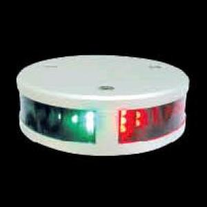 Lopolight 100-003 - 1NM LED Combination Bow Light - Round