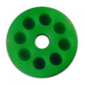 "Forespar SG-3 Green Shackle Guard - 3"" OD x 1/2"" ID"