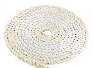 Imtra 3-Strand Anchor Line, 5/8in White