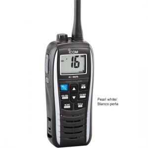 Icom M25 Handheld VHF, Float&Flash, USB, 5 Watt, White