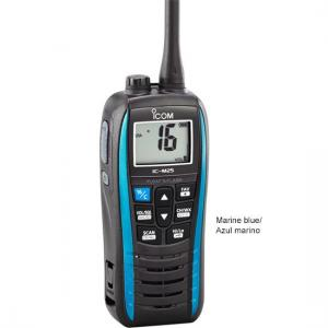 Icom M25 Handheld VHF, Float&Flash, USB, 5 Watt, Blue