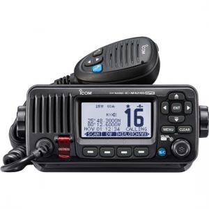 Icom M424G VHF w/ Hailer and GPS - Black