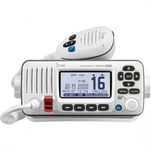 Icom M424G VHF w/Hailer and GPS - White