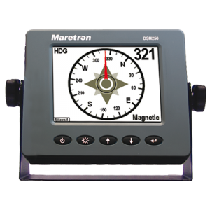 Maretron DSM250 High Bright Color Display - Gray